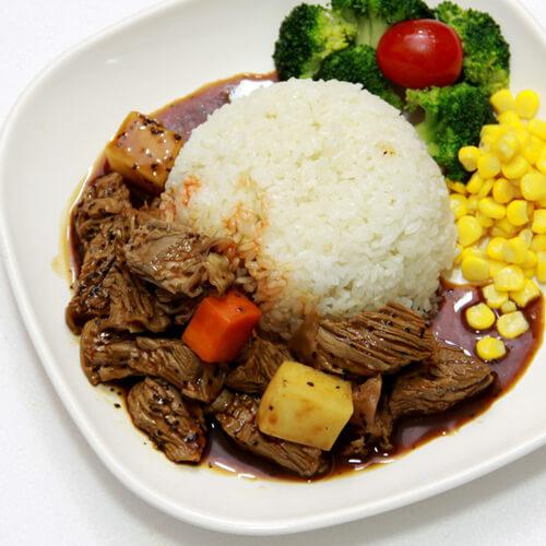 黑椒汁牛肉饭