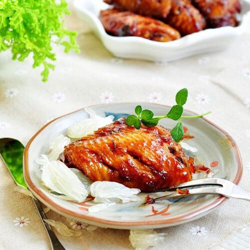 柚子烧鸡翅