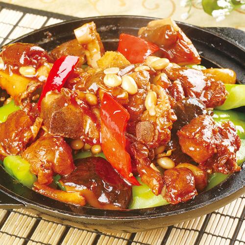 小南瓜炒肉