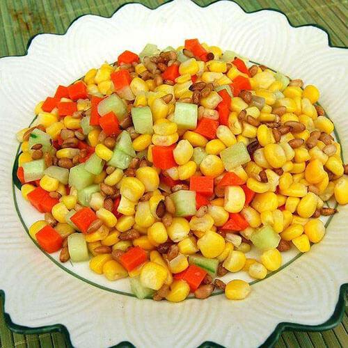 豌豆玉米火腿丁
