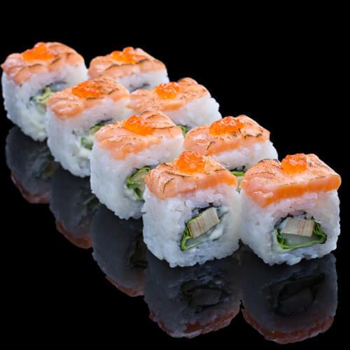 三文鱼寿司卷