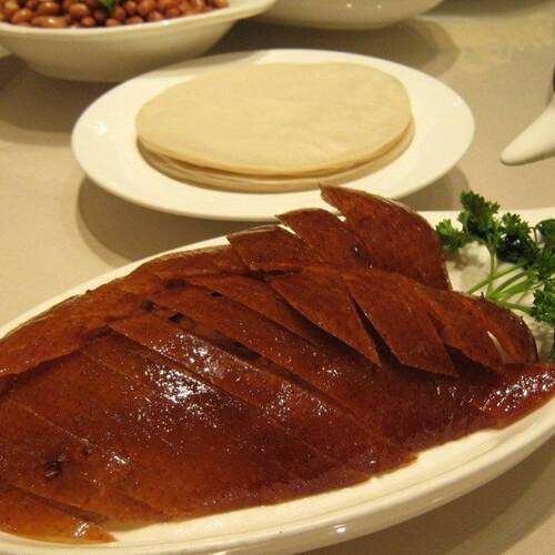 北京烤鸭卷饼