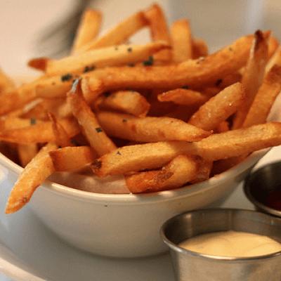 简单好做的薯条