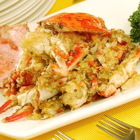 好吃的清蒸梭子蟹