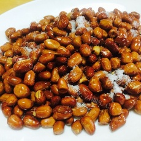 好吃的炒花生米