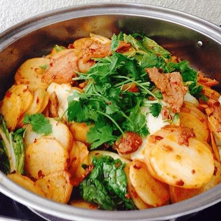 学做干锅土豆片