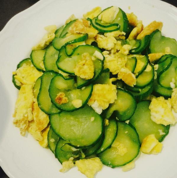 我的黄瓜炒鸡蛋