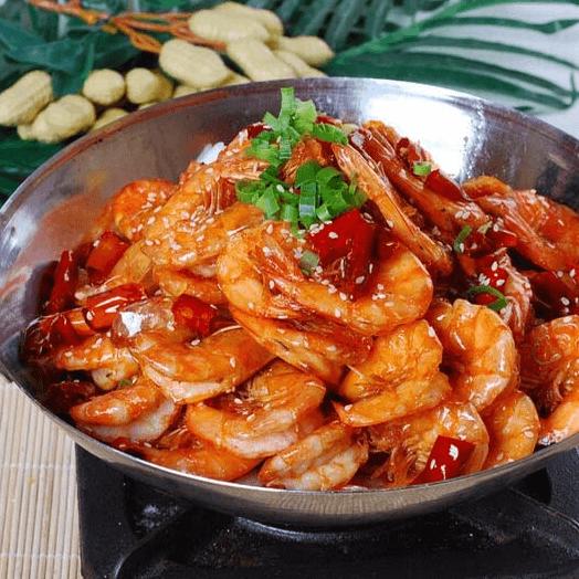 自制干锅虾