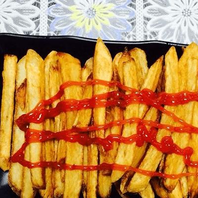 营养的薯条