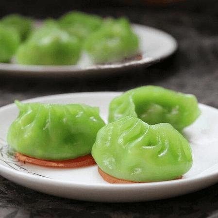 简单版翡翠饺