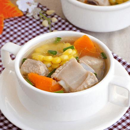 好吃的白萝卜排骨汤