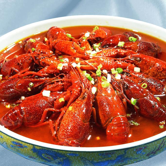 好吃的香辣小龙虾