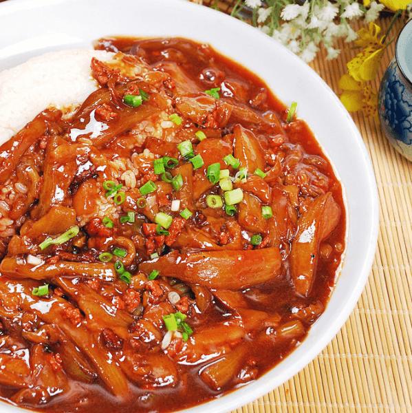 家庭版肉末茄子