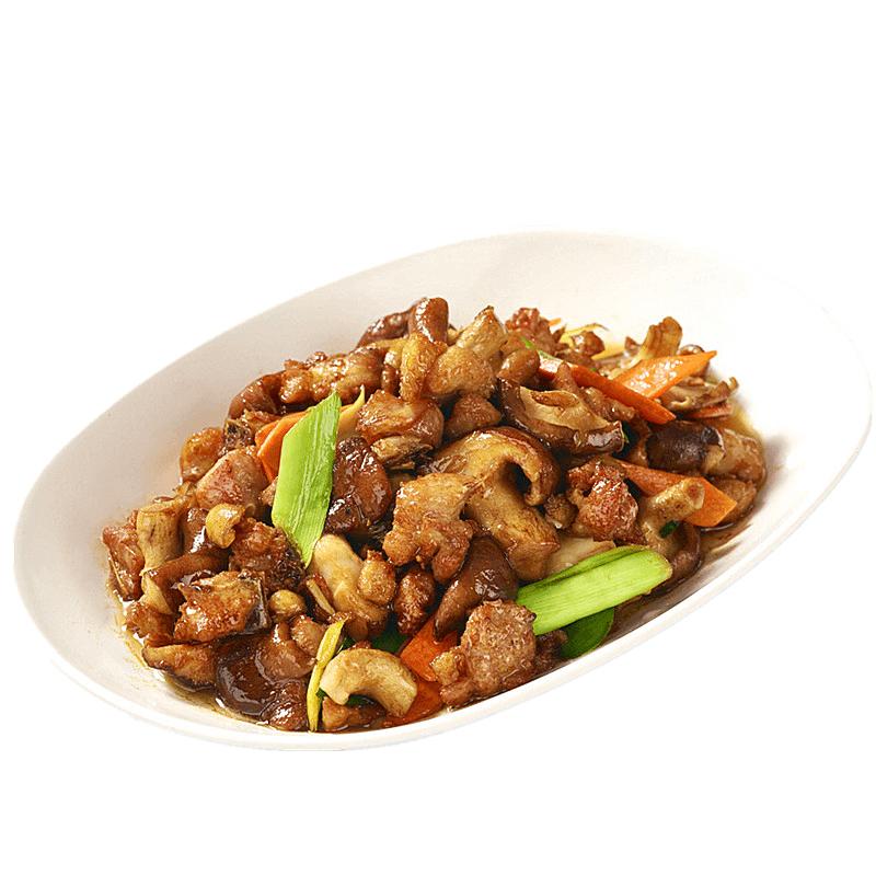 家常香菇炒肉