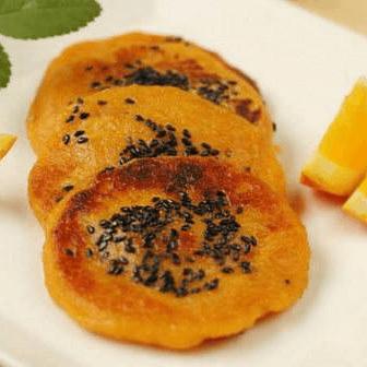 小螃蟹红薯饼