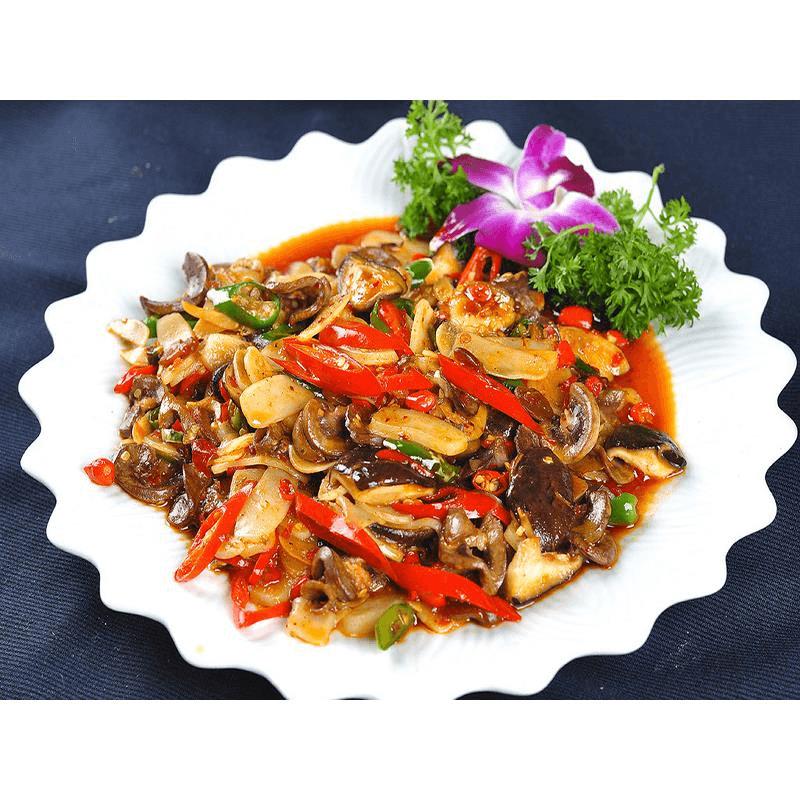 家庭版香菇炒肉