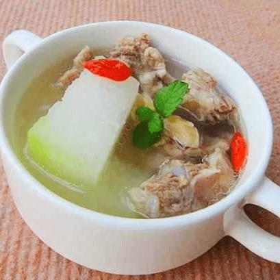 好吃的排骨冬瓜汤