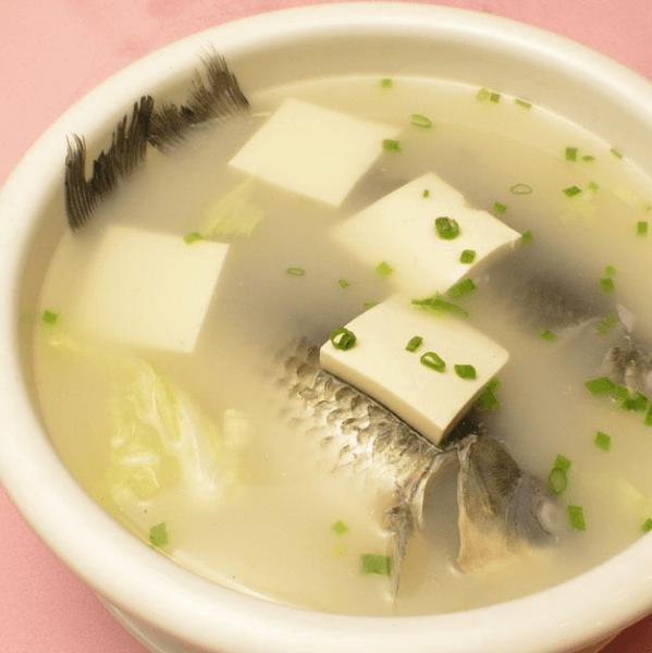 好吃的鲫鱼豆腐汤