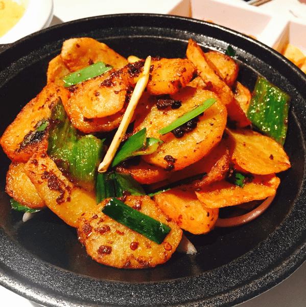 好吃的干锅土豆片