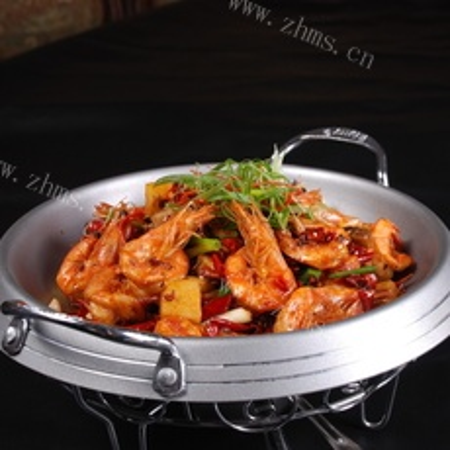 美味的干锅虾