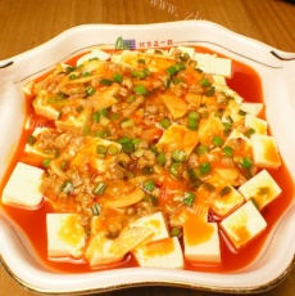 美味的红烧豆腐