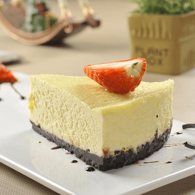 美味的纽约芝士蛋糕