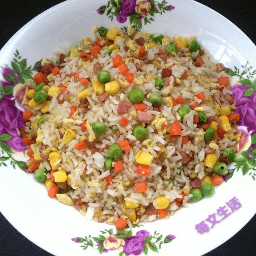 好吃的炒米饭