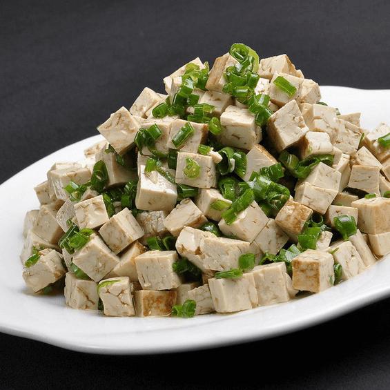 自制小葱拌豆腐