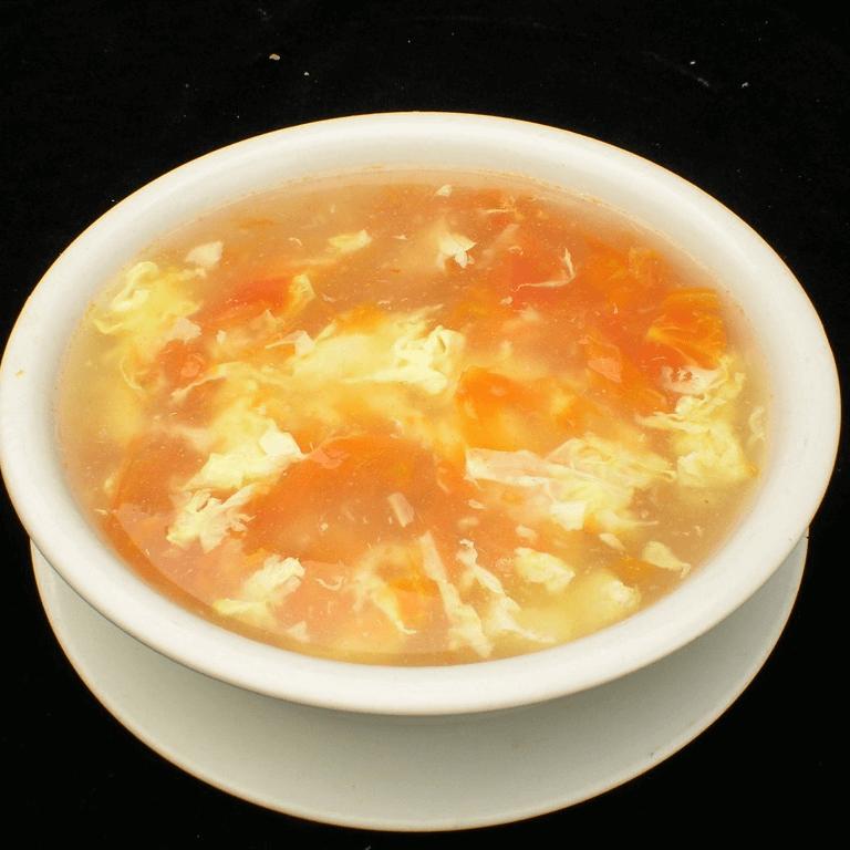 懒人版西红柿鸡蛋汤