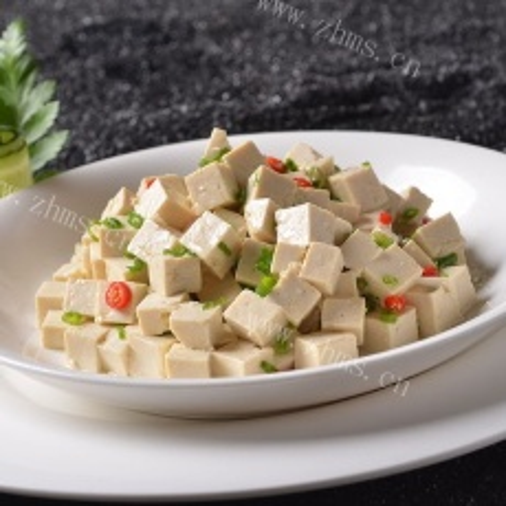 小葱拌豆腐