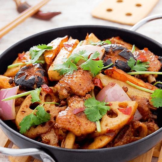 美味的麻辣香锅