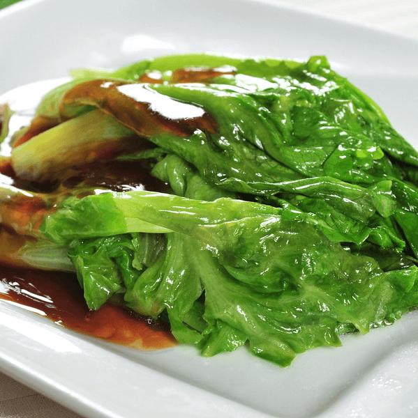 简单版蚝油生菜