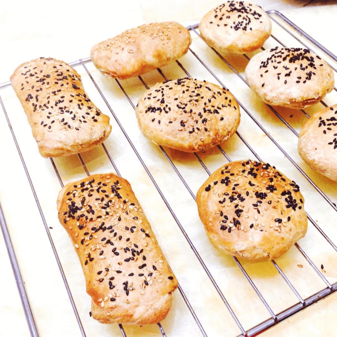 香脆的烤饼