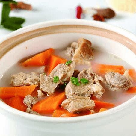 好吃的白萝卜炖羊肉
