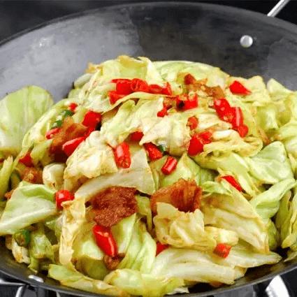 家庭版干锅包菜