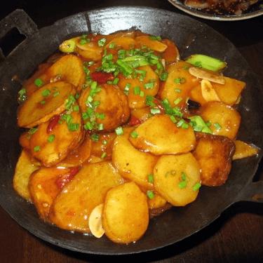 简单版红烧土豆片