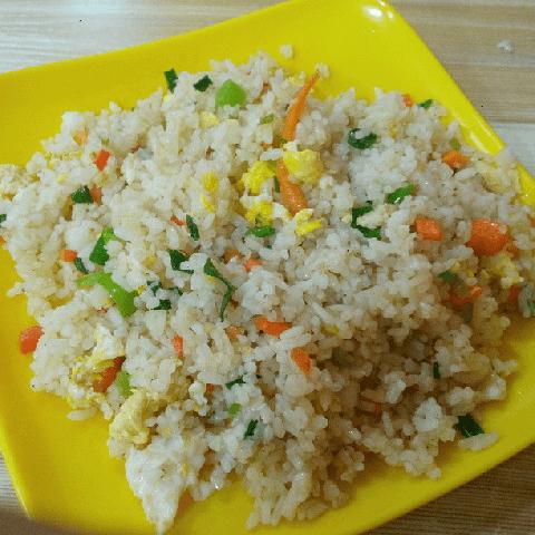 最爱的炒米饭