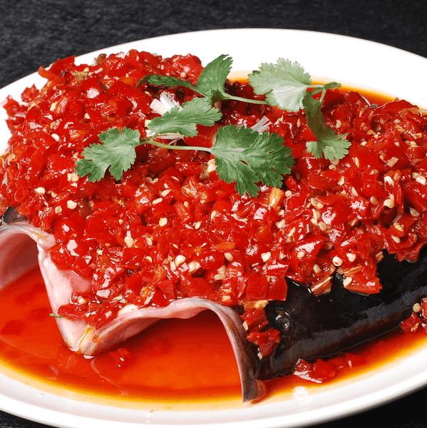 美味的剁椒鱼头