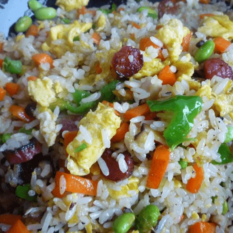 懒人的炒米饭