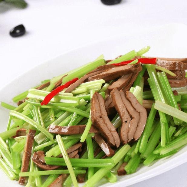 家庭版芹菜炒香干