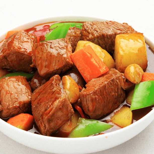 好吃的红烧土豆
