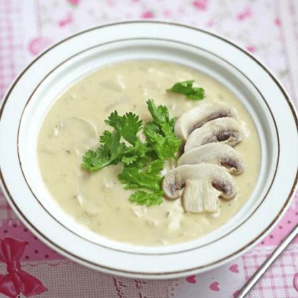 好喝的蘑菇汤