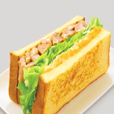 鲜嫩可口三明治