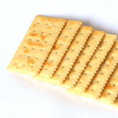 脆脆的苏打饼干