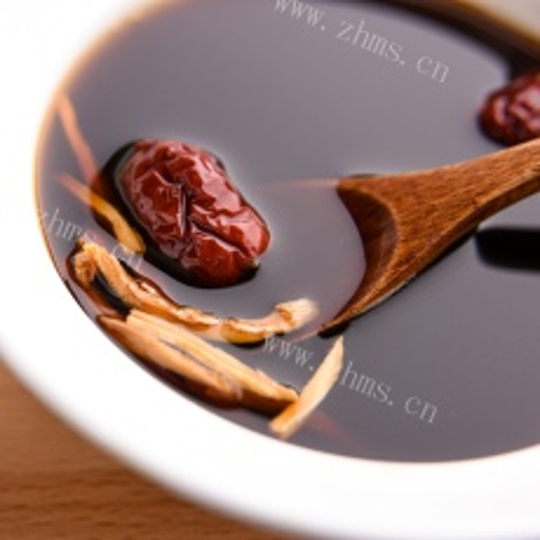 妈妈做的红糖姜茶