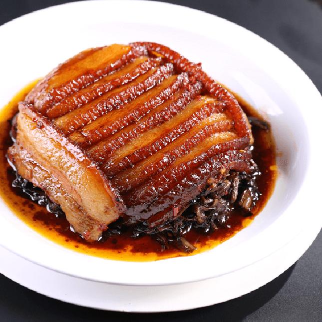 美味的梅菜扣肉