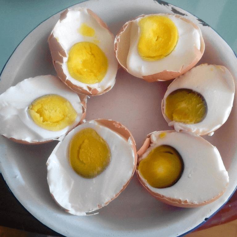 自己在家腌鸡蛋