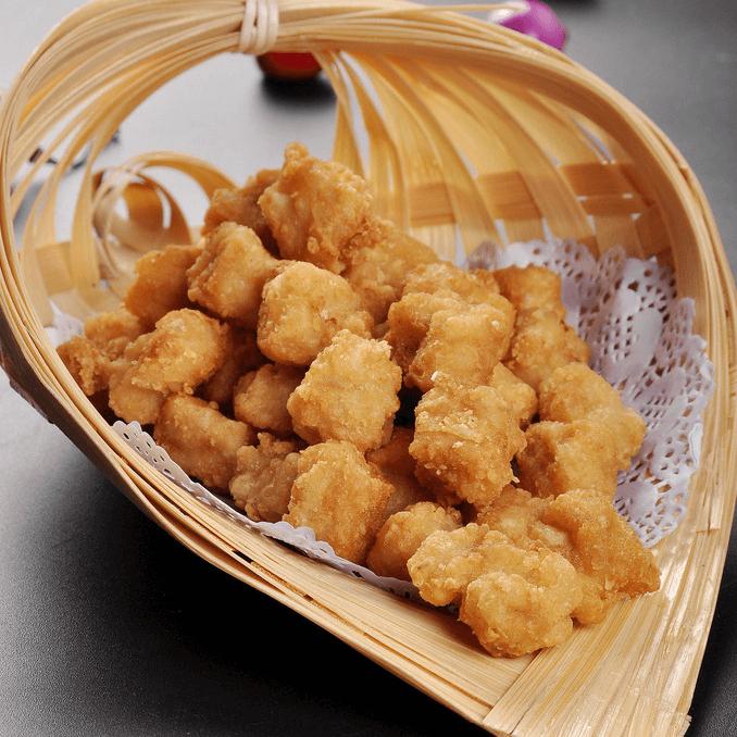 好吃的鸡米花