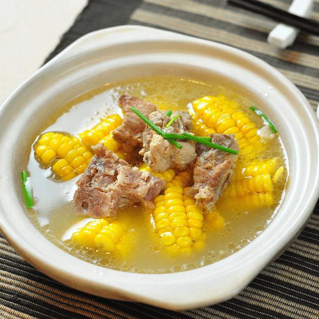 好吃的玉米排骨汤