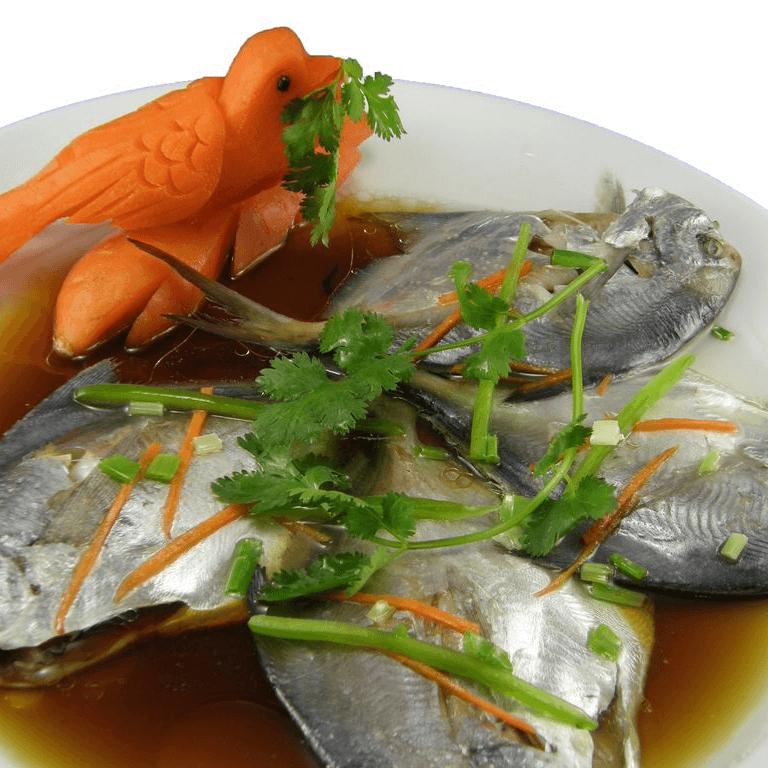 简单的清蒸平鱼